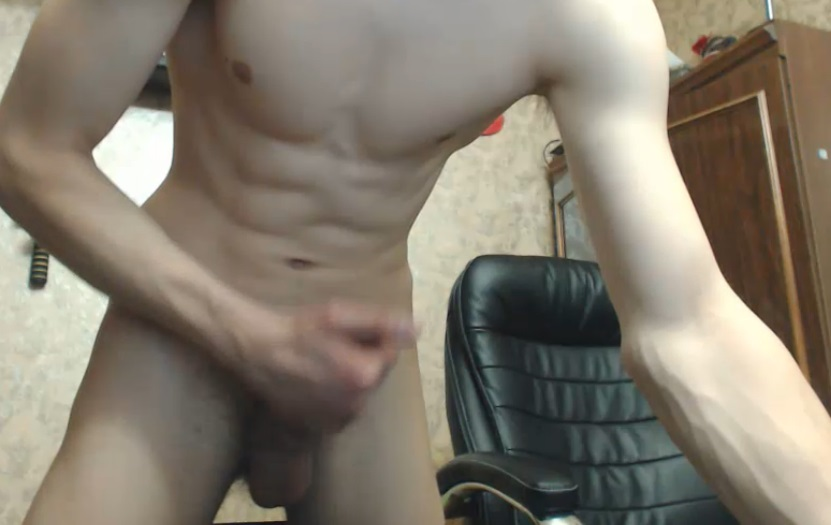Chaturbating wit his cock