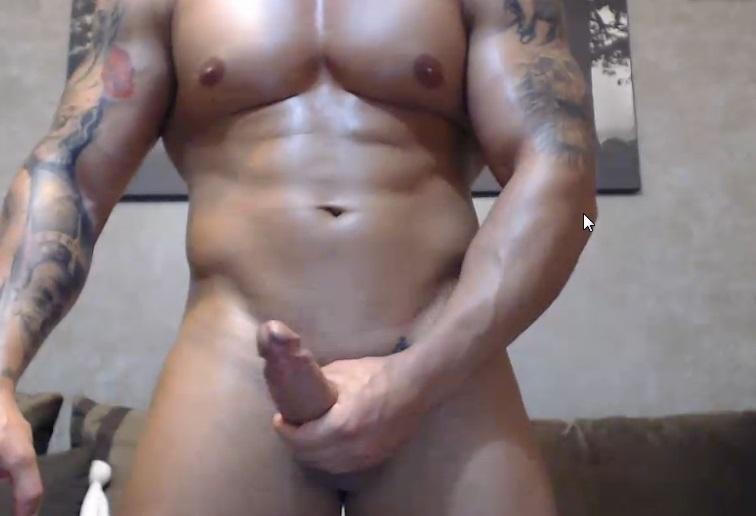 Naked live John masturbating