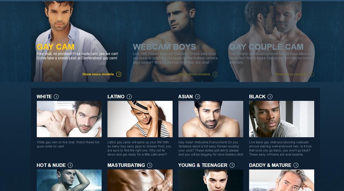Free gay male web chat