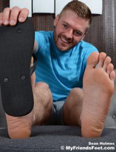 Sean Holmes feet